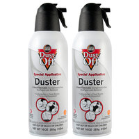 Falcon Safety DPNXL2 Dust-Off 10 oz. Non-Flammable Duster - 2/Pack