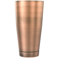 Mercer Culinary M37008ACP Barfly 28 oz. Antique Copper-Plated Finish Stainless Steel Full Size Shaker Tin