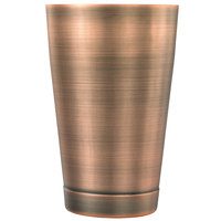 Mercer Culinary M37007ACP Barfly 18 oz. Antique Copper-Plated Finish Stainless Steel Half Size Shaker Tin