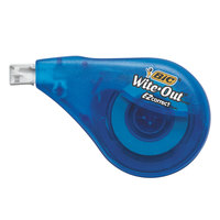 Bic WOTAPP11 Wite-Out EZ Correct Blue 1/6 inch x 472 inch Correction Tape