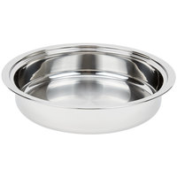 Vollrath 46507 4 Qt. Replacement Stainless Steel Food Pan for 46503 Orion Chafer