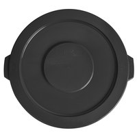 Lavex Janitorial 20 Gallon Black Round Commercial Trash Can Lid