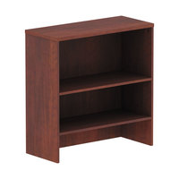 Alera ALEVA283415MC Valencia Medium Cherry Laminate Hutch - 34 inch x 15 inch x 35 1/2 inch