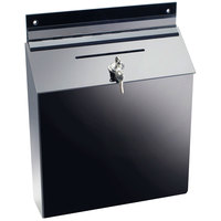 Cal-Mil 388 Wall Mounted Suggestion Box - 12 inch x 3 1/2 inch x 15 inch