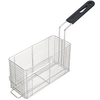 Vollrath FFB1250 10 inch x 4 inch x 4 inch Small Fryer Basket with Front Hook