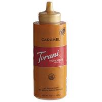 Torani 12 fl. oz. (16.5 oz.) Puremade Caramel Flavoring Sauce