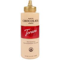 Torani 16.5 oz. White Chocolate Flavoring Sauce
