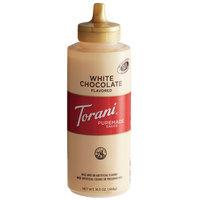 Torani 12 fl. oz. (16.5 oz.) Puremade White Chocolate Flavoring Sauce