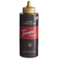 Torani 12 fl. oz. (16.5 oz.) Puremade Dark Chocolate Flavoring Sauce