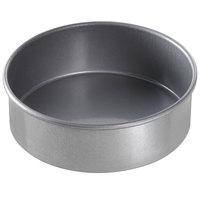 Chicago Metallic 46025 6 inch x 2 inch Glazed Aluminized Steel Round Customizable Cake Pan