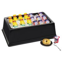 Cal-Mil 463-18-13 Black ABS Fully Insulated Ice Housing - 26 inch x 18 inch x 6 inch