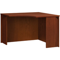 HON BL42CUA1A1 Basyx BL Series 36 inch x 42 inch x 29 inch Medium Cherry Laminate Corner Unit Desk