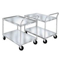 Winholt WPT-2340-AL 25 inch x 42 inch Aluminum Utility Cart - 600 lb. Capacity