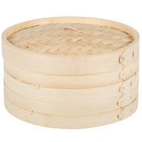 Town 34210 Bamboo Steamer Set - 10 inch
