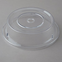 Carlisle 198907 10 3/16 inch to 10 1/4 inch Clear Polycarbonate Plate Cover
