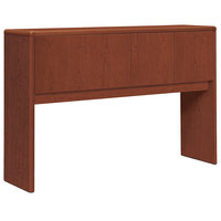 HON 10732CO 10700 Series Cognac Laminate Four Door Stack-On Storage Hutch - 56 5/8 inch x 14 5/8 inch x 37 1/8 inch