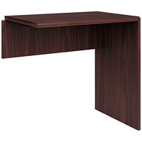 HON 107270XNN 10700 Series 30 inch x 29 inch x 29 1/2 inch Mahogany Laminate Return Shell