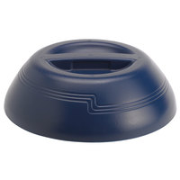 Cambro MDSD9497 Navy Blue Insulated Dome Cover for 9 inch Plate - 12/Case