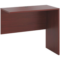 HON 105663NN 10500 Series 48 inch x 24 inch x 42 inch Mahogany Laminate Standing Height Return Shell
