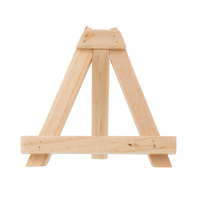 Tablecraft 12005 Wooden Card Holder Easel - 2/Pack