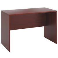 HON 105397NN 10500 Series 60 inch x 30 inch x 42 inch Mahogany Laminate Standing Height Desk Shell