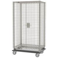 Metro MQSEC53LE 28 inch x 39 inch x 69 inch MetroMax Q Heavy Duty Mobile Security Unit