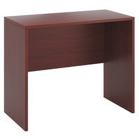 HON 105392NN 10500 Series 48 inch x 24 inch x 42 inch Mahogany Laminate Standing Height Desk Shell