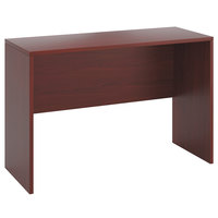 HON 105393NN 10500 Series 60 inch x 24 inch x 42 inch Mahogany Laminate Standing Height Desk Shell