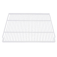 True 909246 White Coated Wire Shelf - 21 1/2 inch x 17 1/2 inch