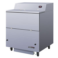 Turbo Air TMKC-34S-N-SS Super Deluxe 34 inch Single Sided All Stainless Steel Milk Cooler