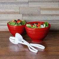 Homer Laughlin 867326 Fiesta Scarlet 2-Piece Prep Baking Bowl Set - 2/Case