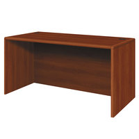 HON 107825CO 10700 Series 60 inch x 30 inch x 29 1/2 inch Cognac Laminate Desk Shell
