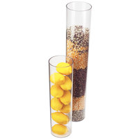 Cal-Mil 872-24 4 inch x 24 inch Round Clear Acrylic Accent Display Vase