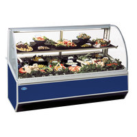 Federal SN-4CD 48 inch Series '90 Double-Curved Glass Refrigerated Deli Case