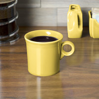 Homer Laughlin 453320 Fiesta Sunflower 10.25 oz. China Mug - 12/Case