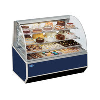 Federal SNR-48SC 48 inch Series '90 Double-Curved Glass Refrigerated Bakery Case