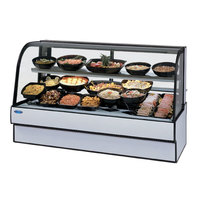Federal CGR7748CD 77 inch Curved Glass Refrigerated Deli Case