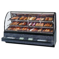 Federal SN-77-SS 77 inch Series '90 Curved Dry Self-Service Bakery Case