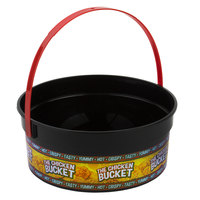 24 oz. Plastic Concession Bucket with The Chicken Bucket Design and Handle - 200/Case