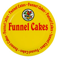 9 inch Funnel Cake Paper Plate   - 1000/Case