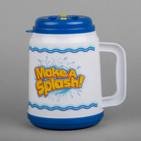 32 oz. Make a Splash Mini Tanker with Straw and Lid - 24/Case