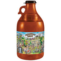 54 oz. Plastic Mountain Brew Soda Growler   - 30/Case