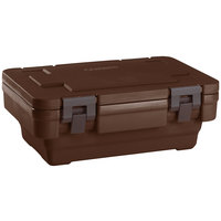Cambro UPCSS160131 Dark Brown S-Series Stack-and-Store Ultra Pan Carrier