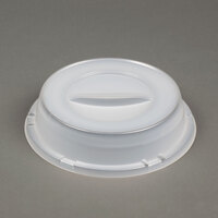Dart Solo 9CRTF Translucent Dome Lid for Foam Plates - 500 / Case