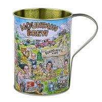 32 oz. Mountain Brew Tin Mug - 50/Case