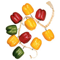 Decorative Bell Peppers on a 12 inch Rope
