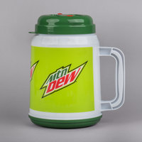 64 oz. Mountain Dew™ Tanker with Spout, Straw, and Lid - 12/Case