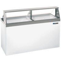 Master-Bilt DD-66 69 inch Straight Glass Ice Cream Dipping Cabinet