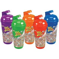 32 oz. Flip-Top Assorted Color Sports Bottle with Fun at the Fair Design - 100/Case