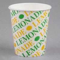 16 oz. Squat Retro Paper Lemonade Cups - 1000/Case